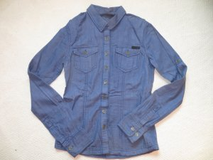 Bench Denim Shirt blue