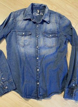 LTB JEANS Jeansowa koszula niebieski