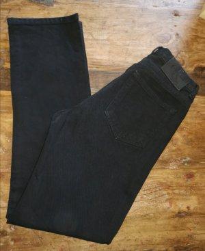 Calvin Klein Hoge taille jeans zwart