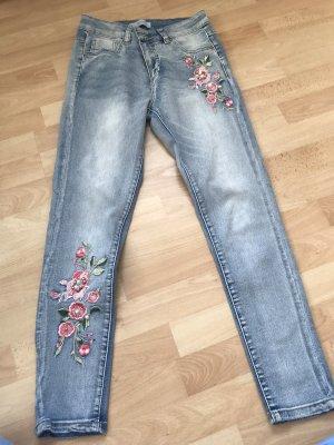 Blind Date Hoge taille jeans veelkleurig
