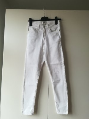 Mango Skinny Jeans white