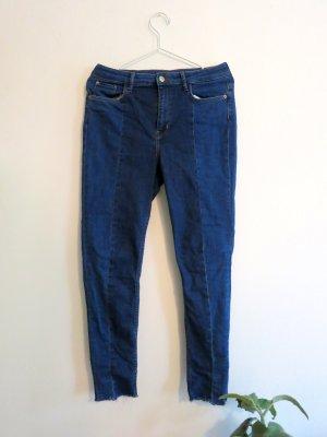 H&M Divided Hoge taille jeans veelkleurig Gemengd weefsel