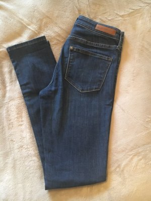 H&M Low-Rise Trousers dark blue