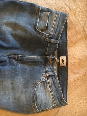 Only Tube jeans blauw