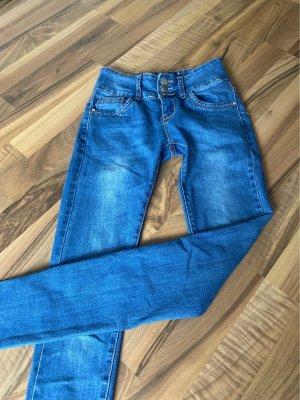 Miss RJ pantalón de cintura baja azul claro