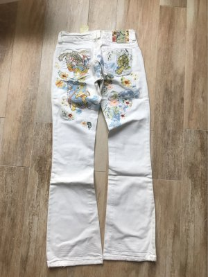 S.Marlon Boot Cut Jeans white