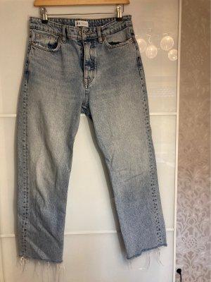 Trf by Zara Boyfriend Jeans grey-slate-gray