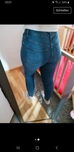 100 Pantalone di lana blu scuro