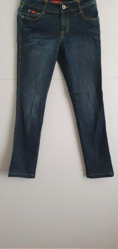 CFL Peg Top Trousers dark blue