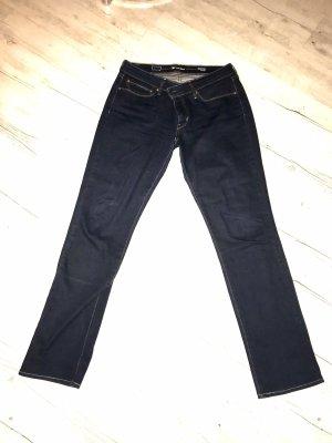 John Lewis Jeans stretch bleu foncé