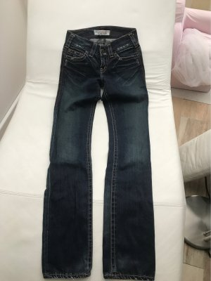 1921 Jeans taille basse bleu