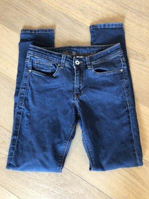 Jeans Hose Basic Denim blau stretch Skinny Gr. 36