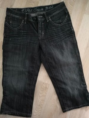 Esprit Workowate jeansy szary niebieski-ciemnoniebieski
