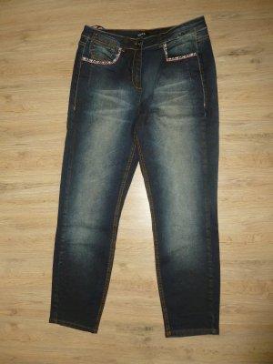 Jeans Hose blau Crisca Biba