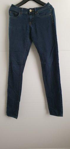 SKINNY DIP Pantalone cinque tasche blu scuro