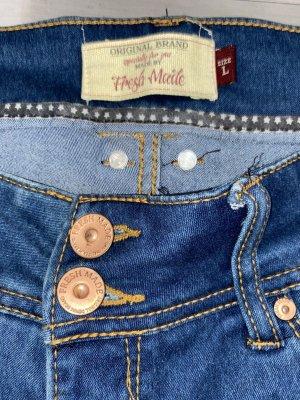 Fresh made Jeans vita bassa multicolore