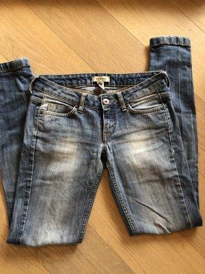 Jeans Hose Denim Skinny blau Gr. 36