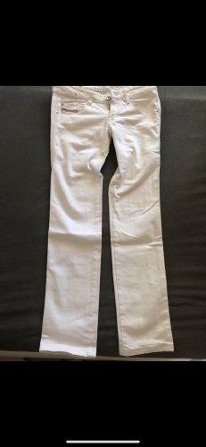 Diesel Jeans cigarette blanc