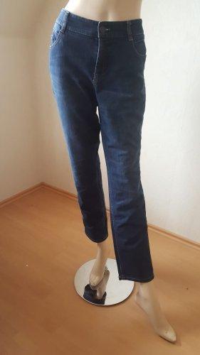 Atelier Gardeur Jeans coupe-droite bleu foncé