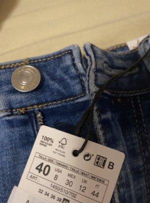 Zalando High Waist Jeans blue