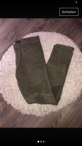 FSBN Stretch Jeans green grey