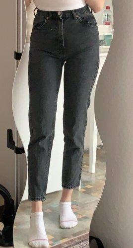 Zara Jeans a 3/4 nero