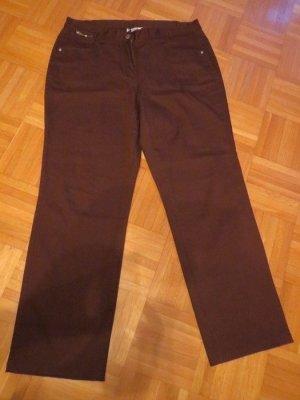 Jeans Hose, Gr.44/L, braun, neu