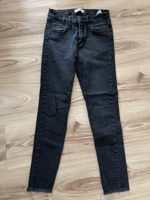 addax Pantalón de tubo negro