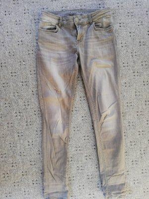 Hallhuber Pantalón de tubo gris
