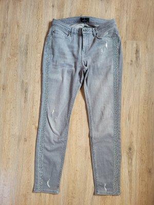 Monari Tube Jeans grey