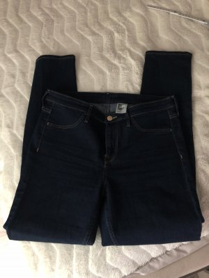 Hennes Collection by H&M Five-Pocket Trousers dark blue