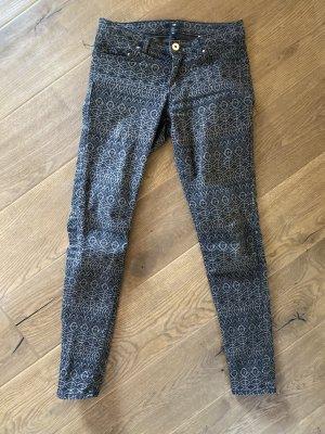 Jeans, Hose , H&M , Muster, Größe 38
