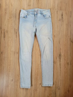 Bershka Tube jeans azuur