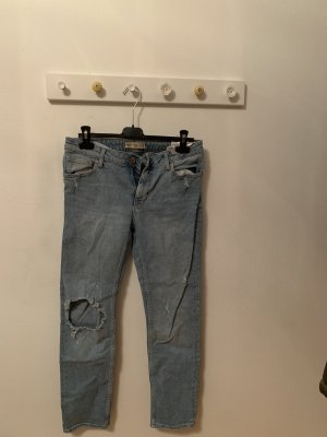 Jeans Hose in lockerem vintage Style