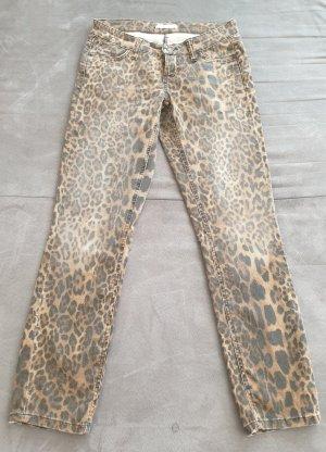 Cambio Straight Leg Jeans beige-brown