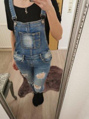 Jeans Hose mit Hosenträger