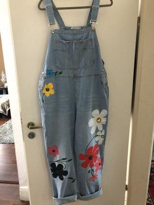 Boyfriend jeans lichtblauw-rood