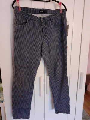 Angels Tube jeans wit-donkerblauw