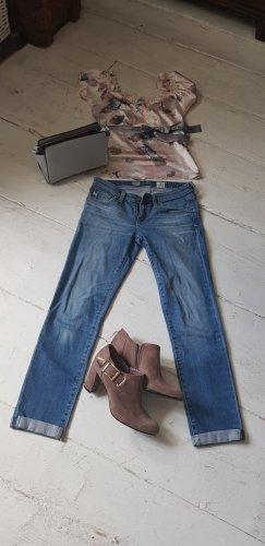 Adriano Goldschmied Stretch jeans staalblauw-korenblauw