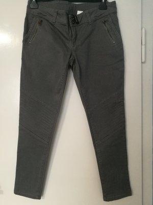 Bon Prix Dopasowane jeansy Wielokolorowy Bawełna