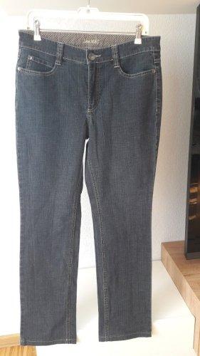 "Jeans Hose von ""Mac"" Model Angle mit Leder Label Size 42/32"