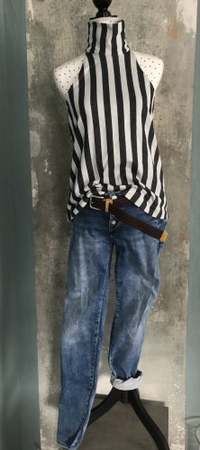 Mavi Jeans vita bassa blu