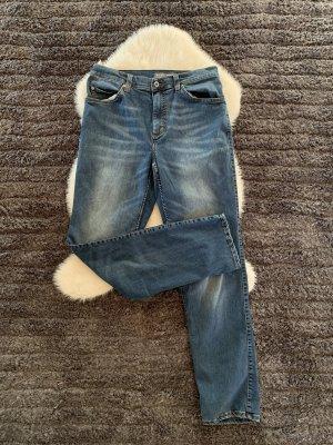 Mustang Workowate jeansy niebieski