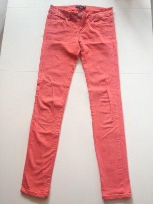 Jeans-Hose von Tally Weijl, lachsfarben, Größe 36