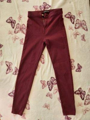 Bershka Pantalón de tubo multicolor