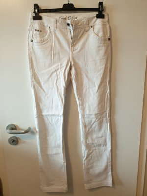 Jeans Hose Weiß Gr. 36 C&A