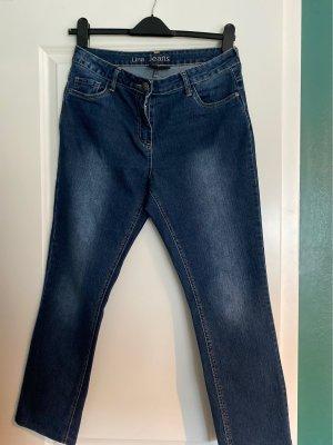 Gina Benotti Jeans flare bleu foncé