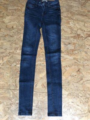 Denim Co. Jeans cigarette bleu