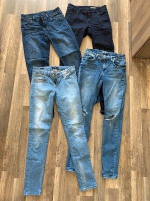 Jeans Hosen blau Kleiderpaket