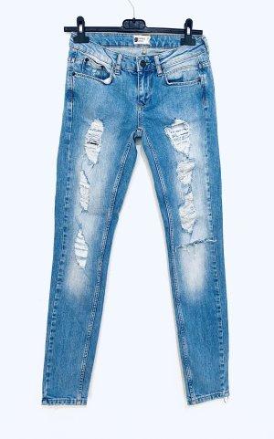 Gina Tricot Jeans boyfriend multicolore